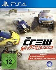 The Crew - Wild Run Edition PS4 PlayStation 4 NUOVO + conf. orig.