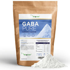 GABA 300 g - reines Pulver - Vegan - 100% Gamma-Aminobuttersäure - Laborgeprüft