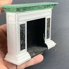 Faux Marble Fireplace Dollhouse Miniature 1/12 Scale