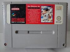 SNES juego-cal ripken jr. béisbol (PAL) (módulo) 10631898