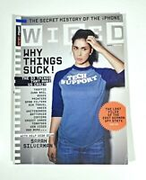 Wired Magazine February 2008 Sarah Silverman VF! Why Things Suck! iPhone Secrets