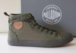 Palladium sneakers alte uomo Pallaphoenix Mid Canvas verde army stivali n.43 €90