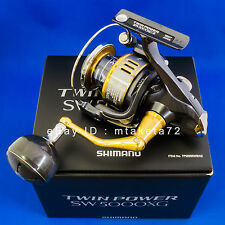 Shimano 15 TWIN POWER SW 5000XG, Spinning Reel Made In Japan, 033178