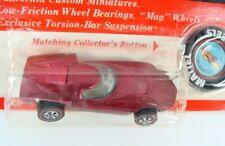 Hot Wheels 1969 Turbofire Rose Redline on Blister Card
