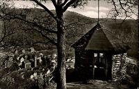 Bad Bertrich Üßbachtal Eifel ~1950/60 Mooshütte Hütte Panorama Kirche Stadt Wald
