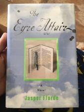 JASPER FFORDE The Eyre Affair US 1st/1st Signed & Dated HB/DJ