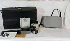 Vintage Polaroid Land Camera w/Case #230 W/ Flash Close-up Kit #583 Instr.