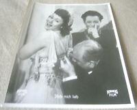 AHF,Kino Aushangfoto Portrait , HAB MICH LIEB , Herta Mayen, Ursula Herking