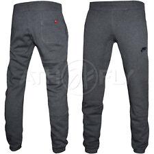 c813d810d6f192 Mens Nike Fleece Joggers Trousers Jogging Pant Tracksuit Bottoms Charcoad XL