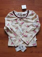 NWT Girl's Clothes Jennifer Lopes JLo Floral Roses Long Sleeve Shirt Size 5/6