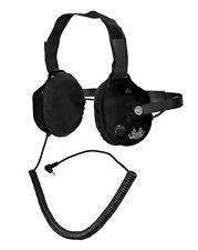 Behind The Head Racing Scanner Headset Black