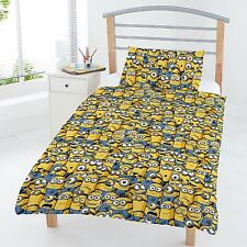 DESPICABLE ME MINIONS JUNIOR ENSEMBLE DE HOUSSE DUVET LITERIE ENFANT SET
