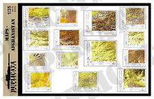Diorama/Model Accessory - 1/35 Maps - Afghanistan