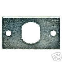 Coin Lock Anchor Plate Good For Damaged Doors