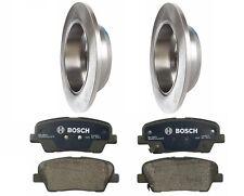 Rear Rotors & Pads Brake KIT Bosch Brembo for Hyundai Entourage 07-08