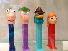 DISNEY'S - PHINEAS, FERB, PERRY The PLATYPUS & CANDACE -   Pez Dispenser MOC