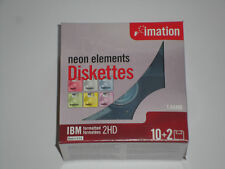 Imation IBM Formatted 2HD 1.44MB Neon Color Disk