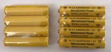 8-pcs1.2v AAA (600mAh) Ni-Cd Rechargeable Battery For Solar Light