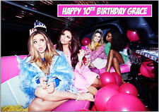 Little Mix Perri Jessie Jade Leigh-Anne Birthday Card A5 Personalised own words