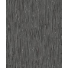 Rasch NUEVO Trendspots de Diseño Negro Purpurina Plateada rayas