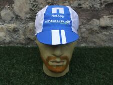 New ~ NetApp Endura Pro Tour Team Issue Cycling Under Helmet Flip Up Visor Cap