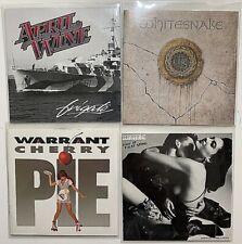 4 CD 80s Hard Rock Lot - Scorpions, Warrant, Whitesnake, April Wine