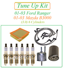 Tune Up for 01-03 Ford Ranger Mazda B3000 3.0 V6 : Spark Plugs Wire Set Air Oil