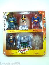 DC Universe Justice League JLU  6 pack Batman Superman Doomsday Wonder Woman NEW