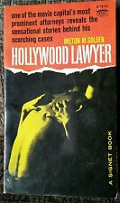 Hollywood Lawyer True Bizarre Legal Cases Vintage Sleaze 1st Print 1960 OOP Rare