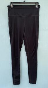 Girlfriend Collective Leggings Medium Solid Black Womens Workout Pants