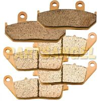 Fr+R Sintered Brake Pads For  2003-2016 2015 2014 2013 Suzuki AN650 Burgman 650
