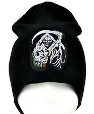 Grim Reaper with Scythe Death Beanie Metal Clothing Knit Cap Sons of Anarchy