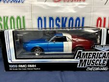 1965 AMC AMX RED WHITE & BLUE ELITE EDITION AMERICAN MUSCLE 1:18 Scale