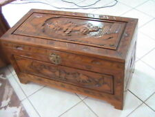 Large Oriental Style Camphor Blanket Box / Chest / Coffee Table
