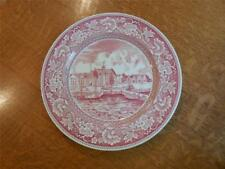 """Wedgwood Old New York 10 1/4"""" plate The Stadhuys 1939 NY World's Fair"""