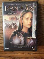 Joan Of Arc (DVD) Disc VG Leelee Sobieski