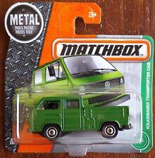 Matchbox  Volkswagen T25 Transporter Crew Cab Pickup Truck - green