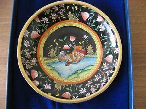 Trinket Dish from Halcyon Days Enamel.