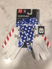 Under Armour Spotlight Limited Edition Nfl Reciever Gloves Size Men's Small