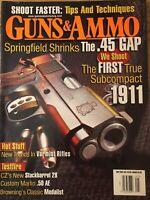Guns & Ammo May 2005, Springfield Shrinks The .45 GAP, Subcompact 1911