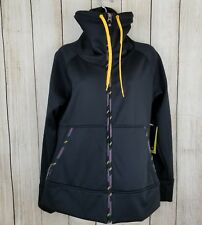 BURTON Hooded Soft Shell Jacket DRYRIDE Snowboard / Ski black med. NWT