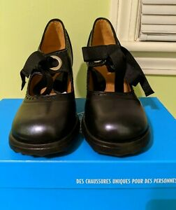 John Fluevog SugarSnap Limited Edition in Black/Blue - Sz 9 ONLY 18 IN PAIRS US