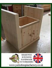 Single Handmade Solid Pine Belfast Butler Sink Solid Pine Kitchen ref B5