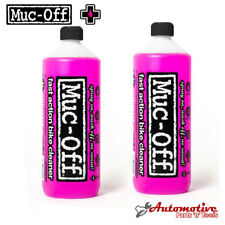 Muc-Off Refill Twin Pack Nano Tech Spray Bicycle Bike Cycle Cleaner 2 x 1 Litre