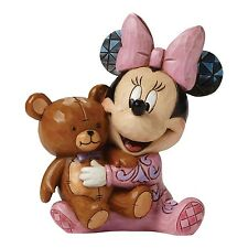 Disney Traditions Baby's First Minnie Mouse Bedtime Bestie Figurine Ornament