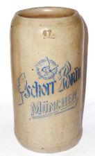 Alter Brauereikrug Pschorrbräu Pschorr Bräu München Bierkrug Krug Bier brewery