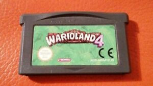 NINTENDO GAMEBOY ADVANCE & SP GAME WARIOLAND 4 CART ONLY TESTED LOVELY GBA  XMAS