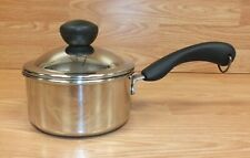 Genuine Farberware 18/10 Stainless Steel 1QT Sauce Pan With Lid **READ**