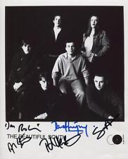 The Beautiful South (Band) Fully Signed 8 x 10 Photo Genuine In Person
