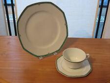 PORCELAINE CNP *NEW* ATLAS ISPAHAN 1 assiette + 1 tasse/soucoupe 1 plate + 1 cup